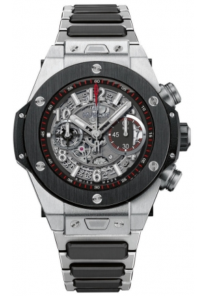 Big Bang Unico Titanium Ceramic Skeletal Dial Men's Watch