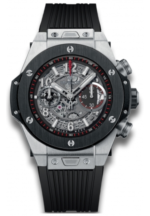 HUBLOT Big Bang Unico Titanium Ceramic Skeletal Dial Men's Watch 45mm