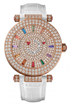 ROUND CLASSIC DOUBLE MYSTERY ELEGANCE LADIES WATCH 42 DM COL DRM D 2R CD, 42MM
