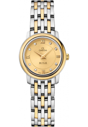 OMEGA 424.20.24.60.58.001 DE VILLE PRESTIGE WATCH 24.4MM