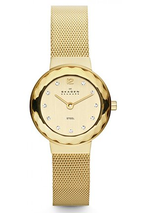 Women's Grenen Quartz 2 Hand Stainless Steel Gold Watch 24mm