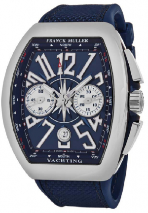 Vanguard Yachting Chronograph Automatic Blue Dial Men's Watch