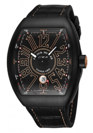 Vanguard Automatic Black Dial Men's Watch