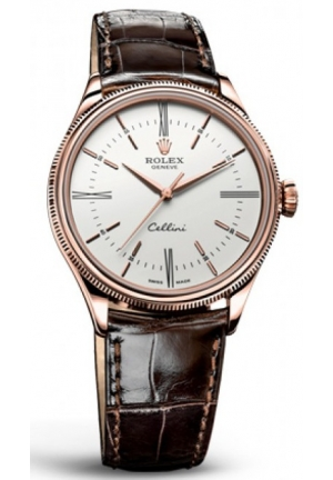 Cellini Time brown leather , 50505 39mm