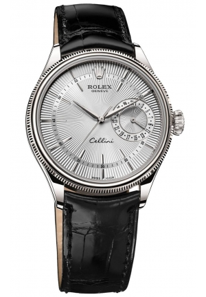 CELLINI DATE 18 CT WHITE GOLD, POLISHED FINISH 50519-0006, 39MM