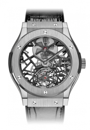 HUBLOT Classic Fusion Skeleton Tourbillon Titanium 45mm