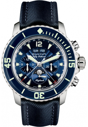 FIFTY FATHOMS COMPLETE CALENDAR FLYBACK CHRONOGRAPH 45MM