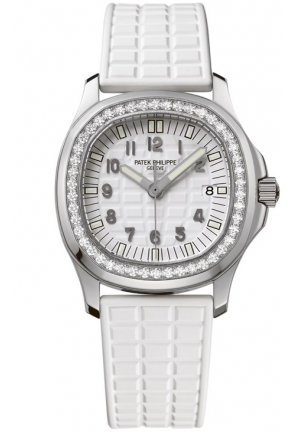 Aquanaut Luce Pure White Ladies Watch , 36.3mm x 34mm