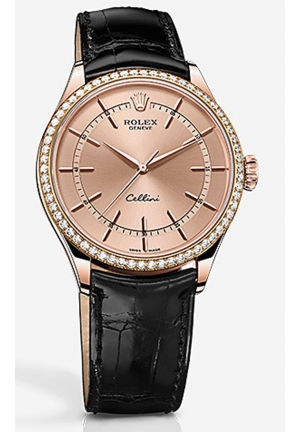 CELLINI TIME 18 CT EVEROSE GOLD, POLISHED FINISH 50705RBR-0010, 39MM