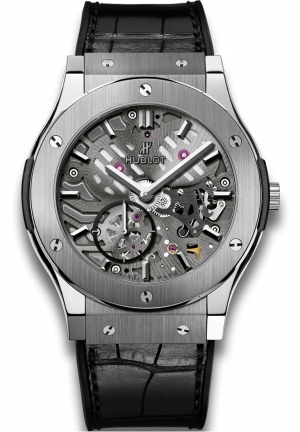 HUBLOT Classic Fusion Ultra-thin skeleton titanium 45mm