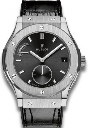 HUBLOT Classic Fusion Power Reserve 8 Days Titanium 45mm