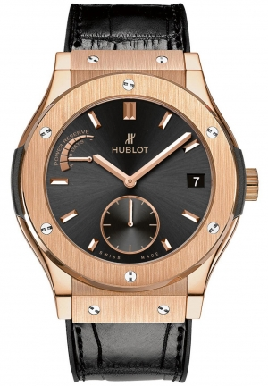HUBLOT Classic Fusion Power Reserve 8 Days King Gold 45mm