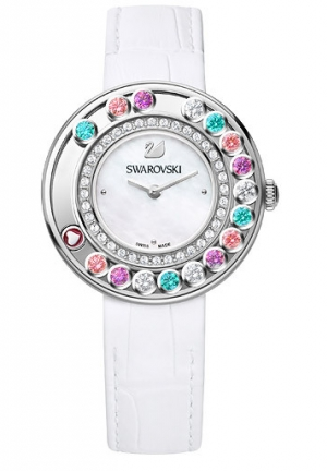 Lovely Crystals Multi-colored Watch