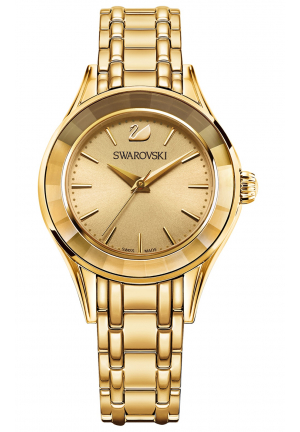 ALEGRIA WATCH, GOLD TONE 33MM