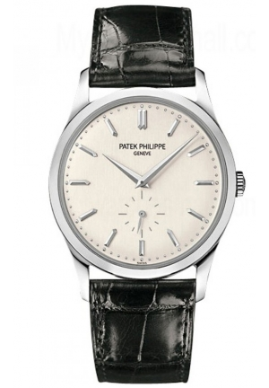 Patek Philippe Calatrava 18kt White Gold Mens Watch , 37mm