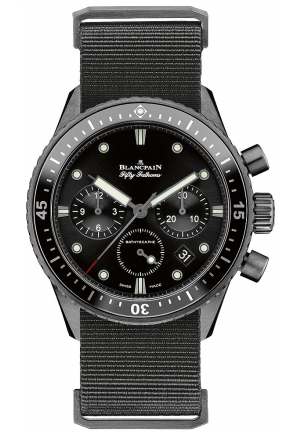 FIFTY FATHOMS BATHYSCAPHE FLYBACK CHRONOGRAPH 43MM