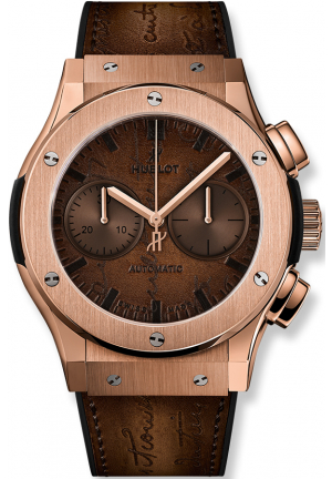 CLASSIC FUSION CHRONOGRAPH BERLUTI SCRITTO KING GOLD 521.OX.0500.VR.BER17, 45MM