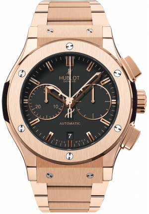 HUBLOT Classic Fusion Chronograph King Gold Bracelet 45mm