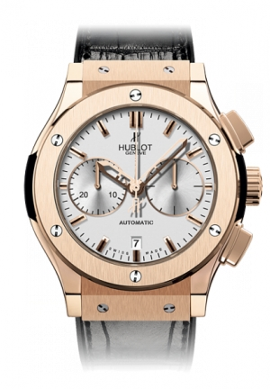 HUBLOT Classic Fusion Chronograph King Gold Opalin 45mm