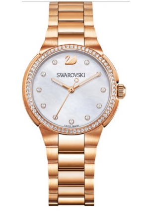 CITY MINI MOTHER-OF-PEARL STAINLESS STEEL 32MM