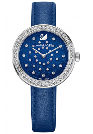 AYTIME BLUE LEATHER LADIES WATCH 34MM