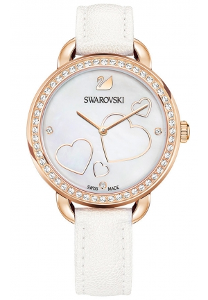 AILA DAY HEART WATCH, WHITE  37MM