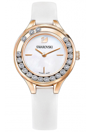 LOVELY CRYSTALS MINI WATCH, WHITE 5242904, 31MM