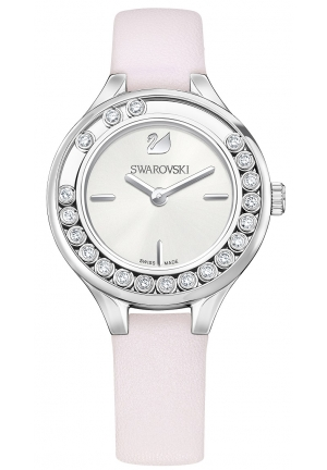 LOVELY CRYSTALS MINI WATCH, PINK 31MM
