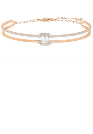 GALLERY SQUARE BANGLE, WHITE 5265446