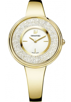 CRYSTALLINE PURE GOLD TONE WATCH 34MM