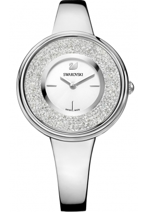 CRYSTALLINE PURE STAINLESS STEEL WATCH 34MM