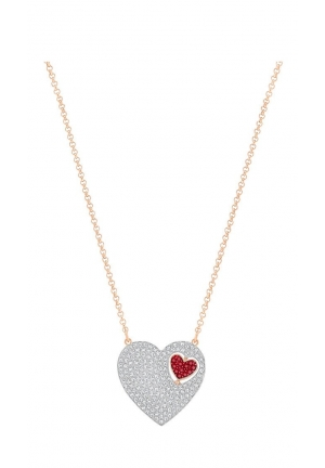 GREAT HEART NECKLACE, RED 5272346