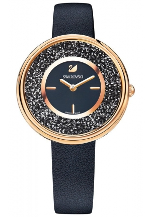 CRYSTALLINE PURE WATCH, BLACK 34MM