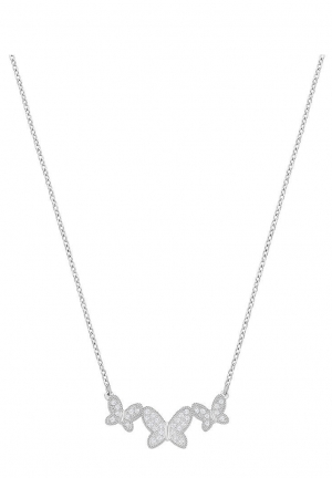 FIELD BUTTERFLY NECKLACE, MEDIUM, WHITE 5277929