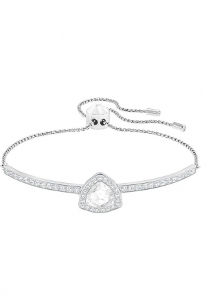 GENTLY TRIANGLE BANGLE, WHITE 5279321