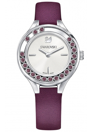 LOVELY CRYSTALS MINI WATCH PURPLE