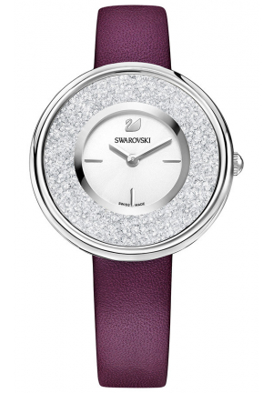 CRYSTALLINE PURE WATCH, PURPLE  34MM