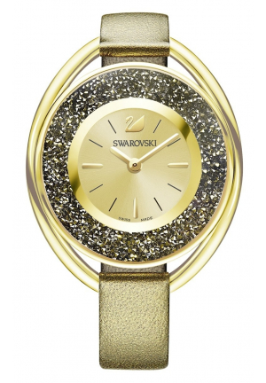 CRYSTALLINE OVAL WATCH PINK