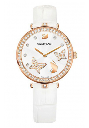 SWAROVSKI AILA DRESSY LADY BUTTERFLY WATCH 5412364, 34MM