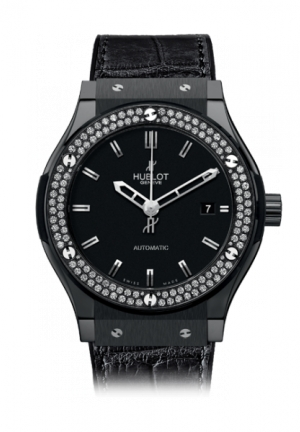 HUBLOT Classic Fusion Black Magic Diamonds 42mm