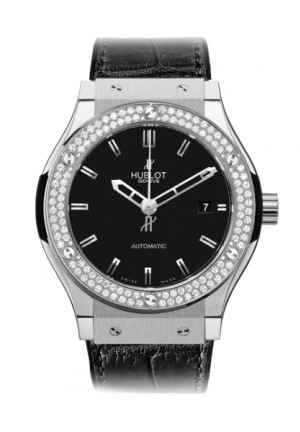 HUBLOT Classic Fusion Titanium Diamonds 42mm
