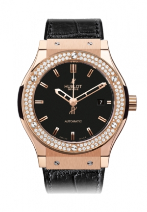 HUBLOT Classic Fusion King Gold Diamonds 42mm