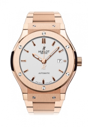 HUBLOT Classic Fusion King Gold Opalin Bracelet 42mm