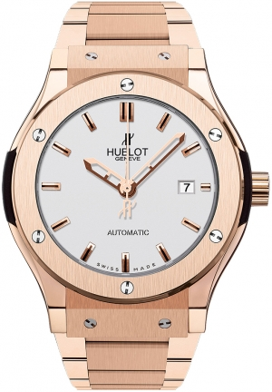 HUBLOT ClassicFusion King Gold Opalin Bracelet 42mm