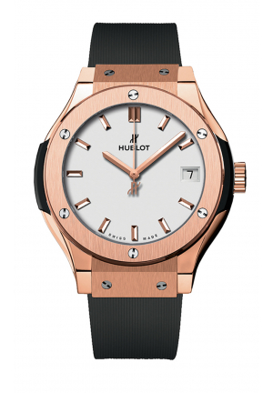 HUBLOT CLASSIC FUSION AUTOMATIC 42MM MENS WATCH 542.OX.2611.LR