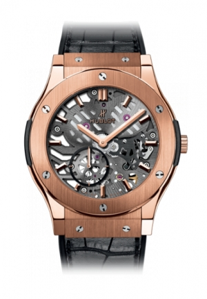 HUBLOT Classic Fusion Classico Ultra-thin skeleton King Gold 42mm