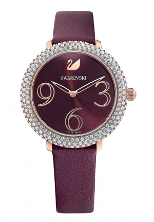SWAROVSKI CRYSTAL FROST WATCH, 37MM