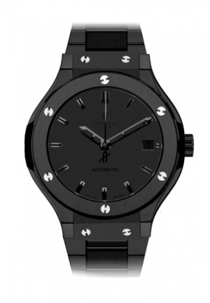 HUBLOT Classic Fusion All Black Bracelet 38mm