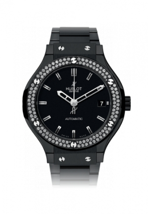 HUBLOT Classic Fusion Black Magic Diamonds Bracelet 38mm