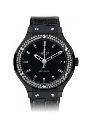 HUBLOT Classic Fusion Black Magic Diamonds 38mm